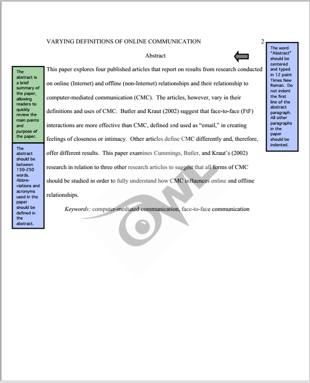 APA Sample Paper Purdue OWL KINESIOLOGY LibGuides at