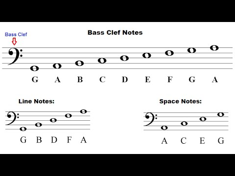 Music Theory For Beginners Bass Clef Identifying Notes YouTube