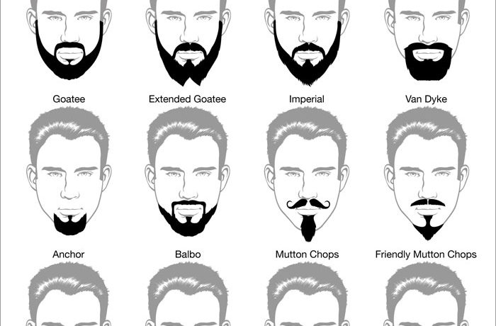 Beard trimming and types of beards trimmed at HMX