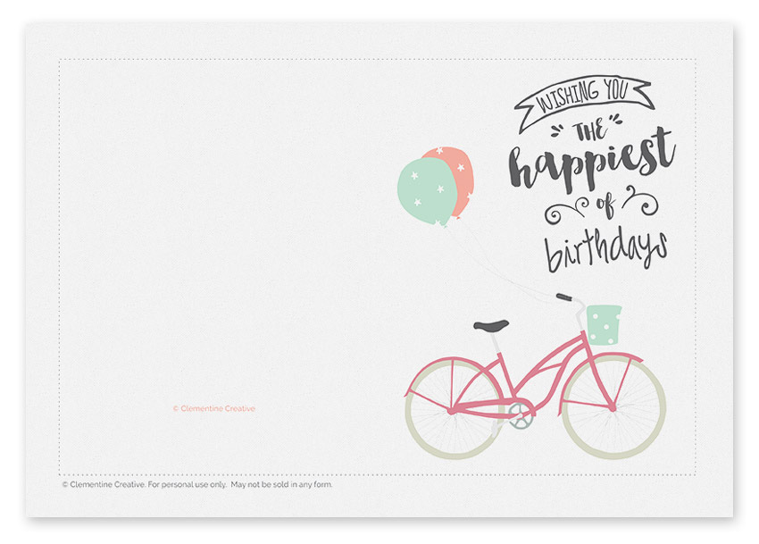 printable birthday greeting card printable greeting card birthday