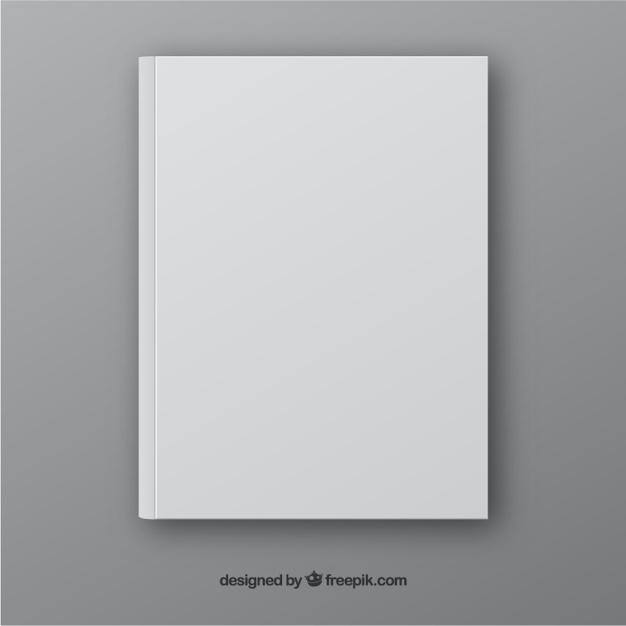 Realistic book template in front side Vector | Free Download