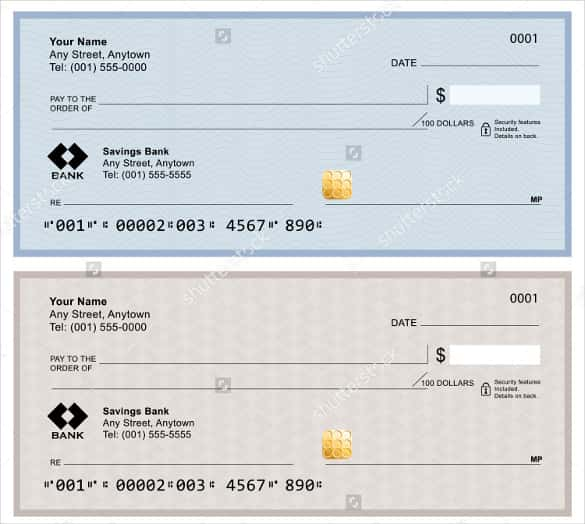 cheque template pdf sample cheque template check template