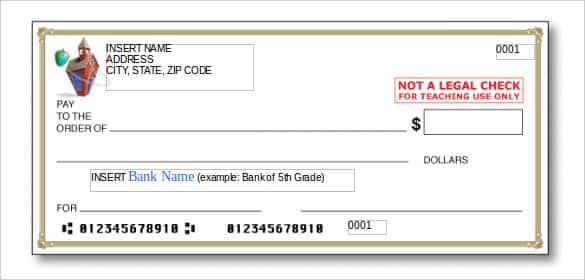 free check template blank check template 7 free pdf documents