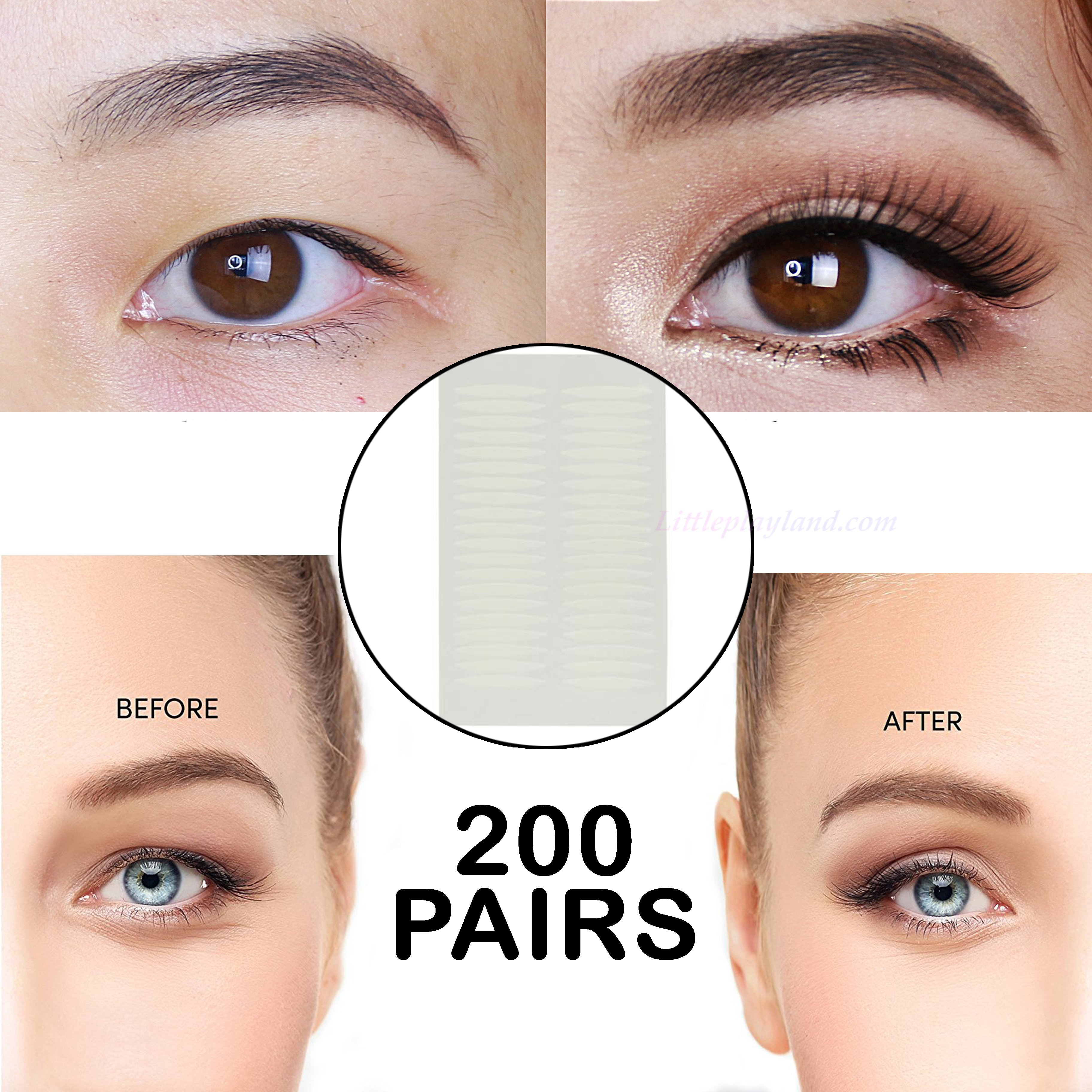 Instant Lift Double Eyelid Sticker – littleplayland.com