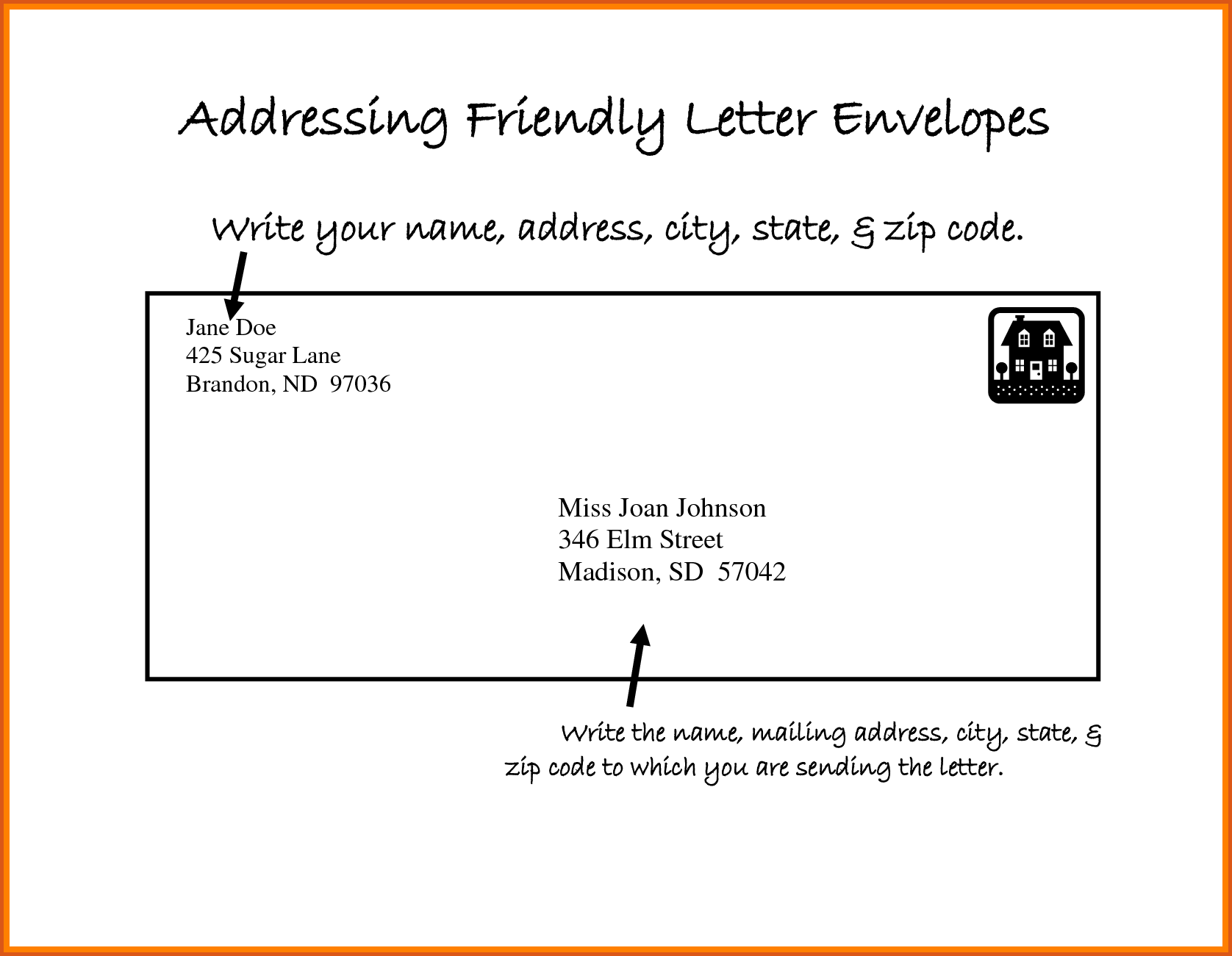 Envelope Format For Mailing 1 – invest wight