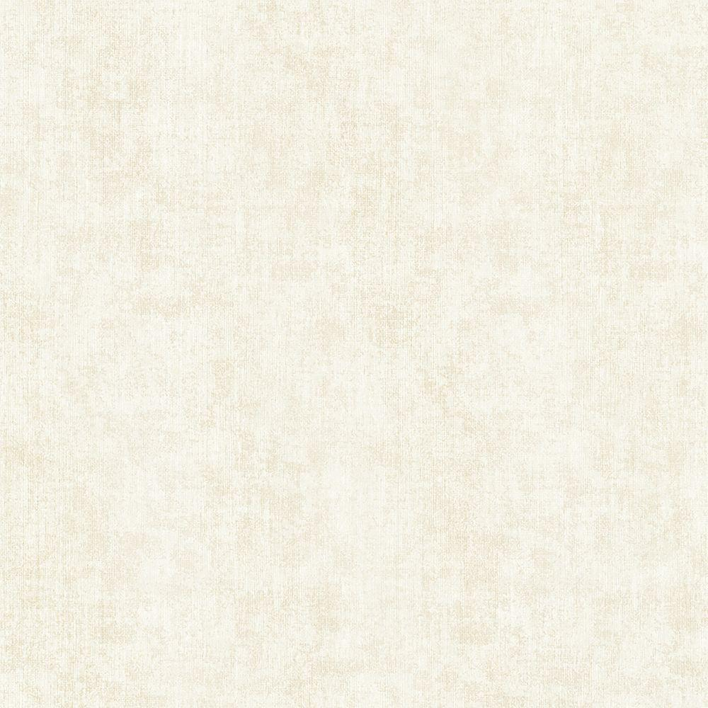 Kenneth James Sultan Cream Fabric Texture Wallpaper Sample 2618