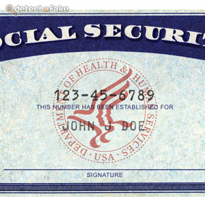 How to spot fake: Social Security Cards :: The Bullvine The