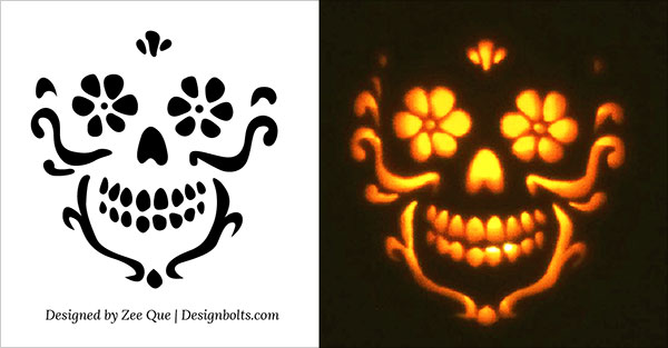 free pumpkin carving stencils 10 free halloween scary cool pumpkin