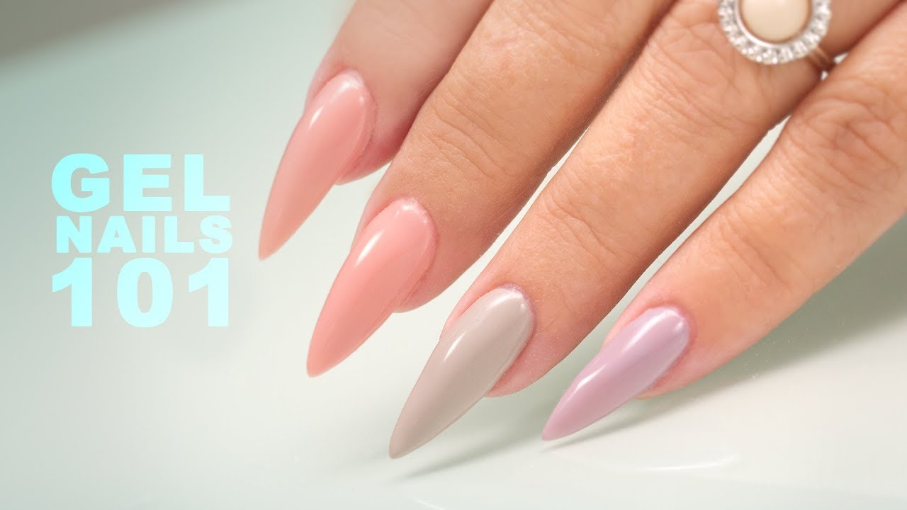 Sculpting Gel Nails Step by Step Tutorial YouTube
