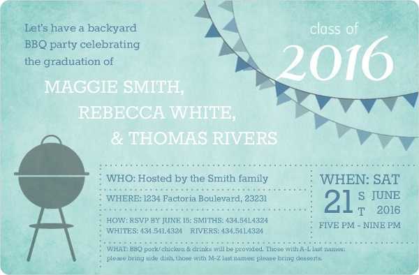 Graduation Invitation Wording Samples & Etiquette Tips
