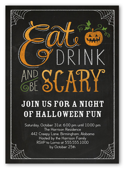 Halloween Party Invitations reignnj.Com