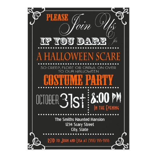 Customize 3,999+ Halloween Party Invitation templates online Canva