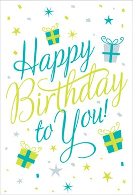 Happy Birthday to You Free Birthday Card | Greetings Island