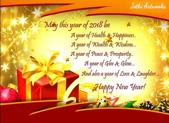 greeting cards for new year photos latest happy new year 2018