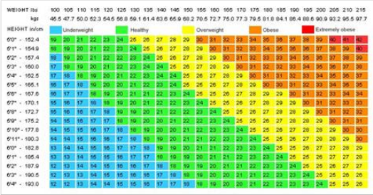 Weight Chart For Women: Ideal Weight According To Your Height and
