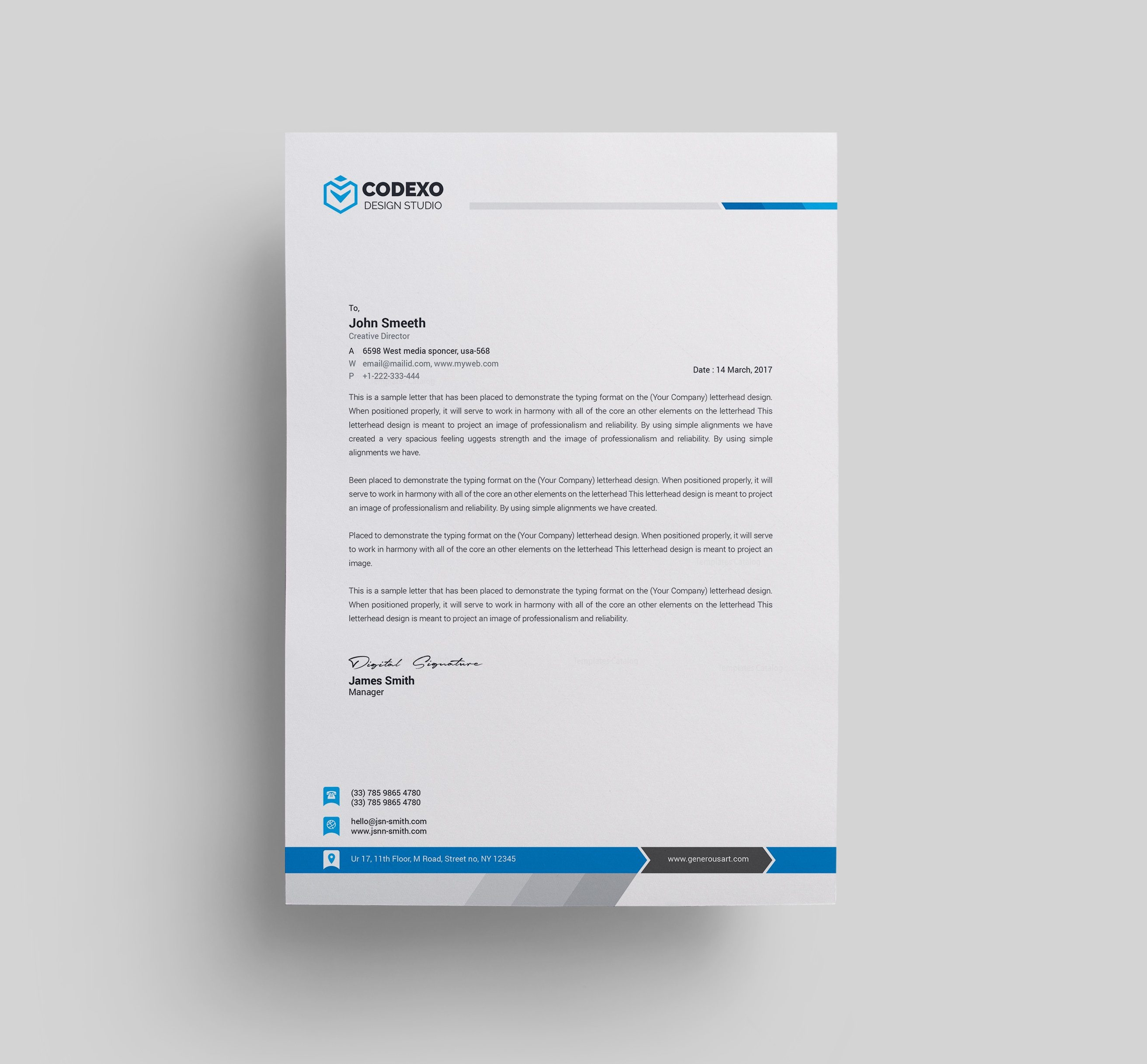 letterhead templates Incep.imagine ex.co