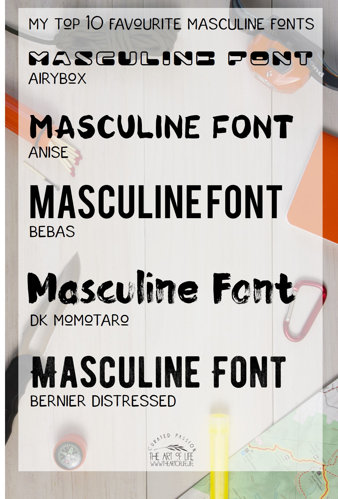 Aggressive, masculine fonts? | Typophile