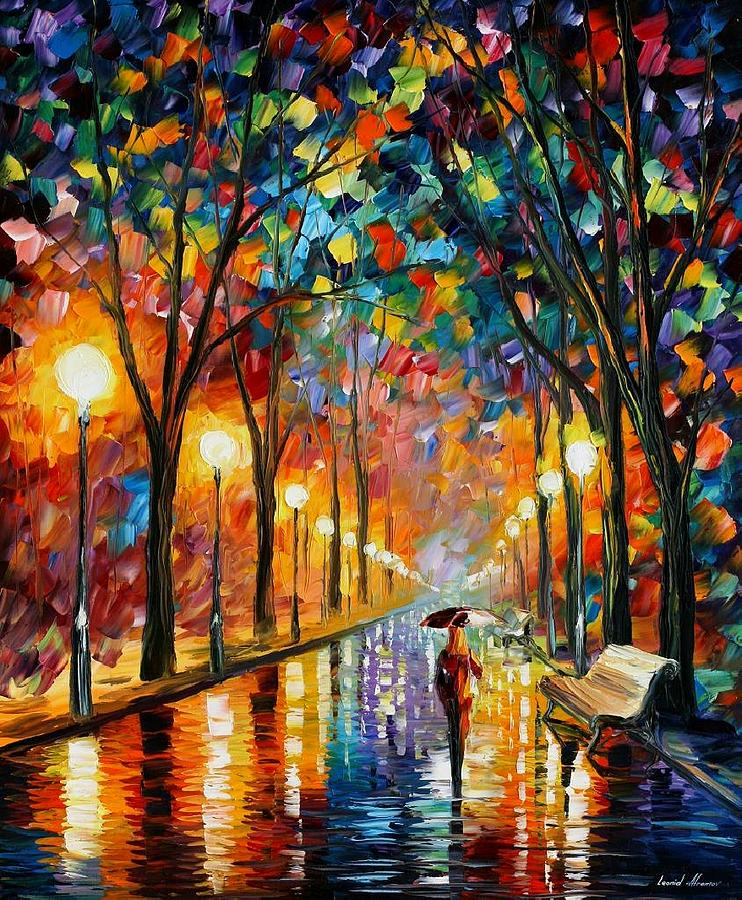 Before The Celebration Painting by Leonid Afremov
