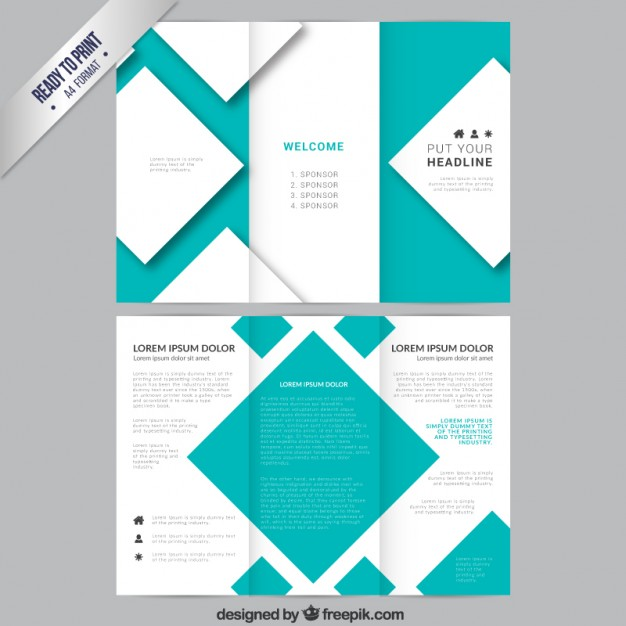 pamphlet template docs Ozil.almanoof.co