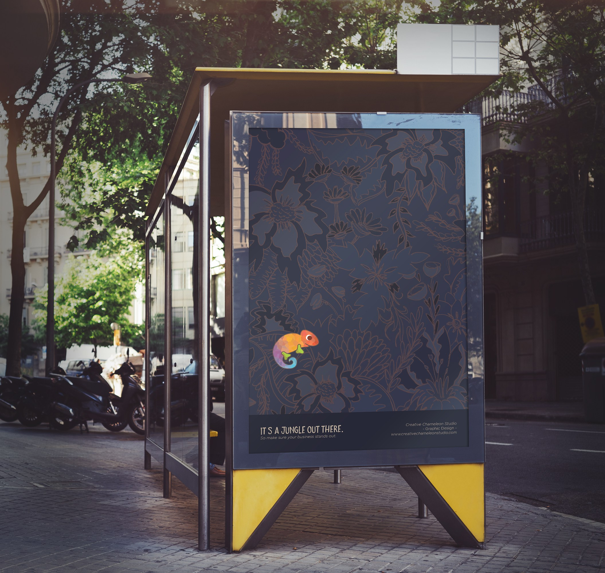 Jungle Poster Mockup » Creative Chameleon Studio