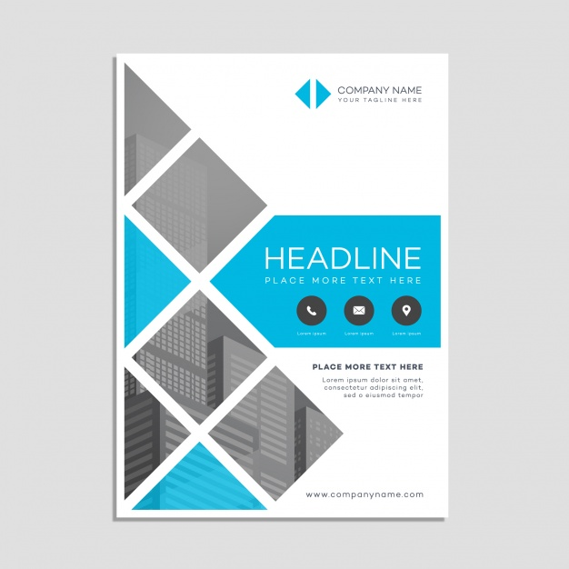 Business poster template Vector | Free Download