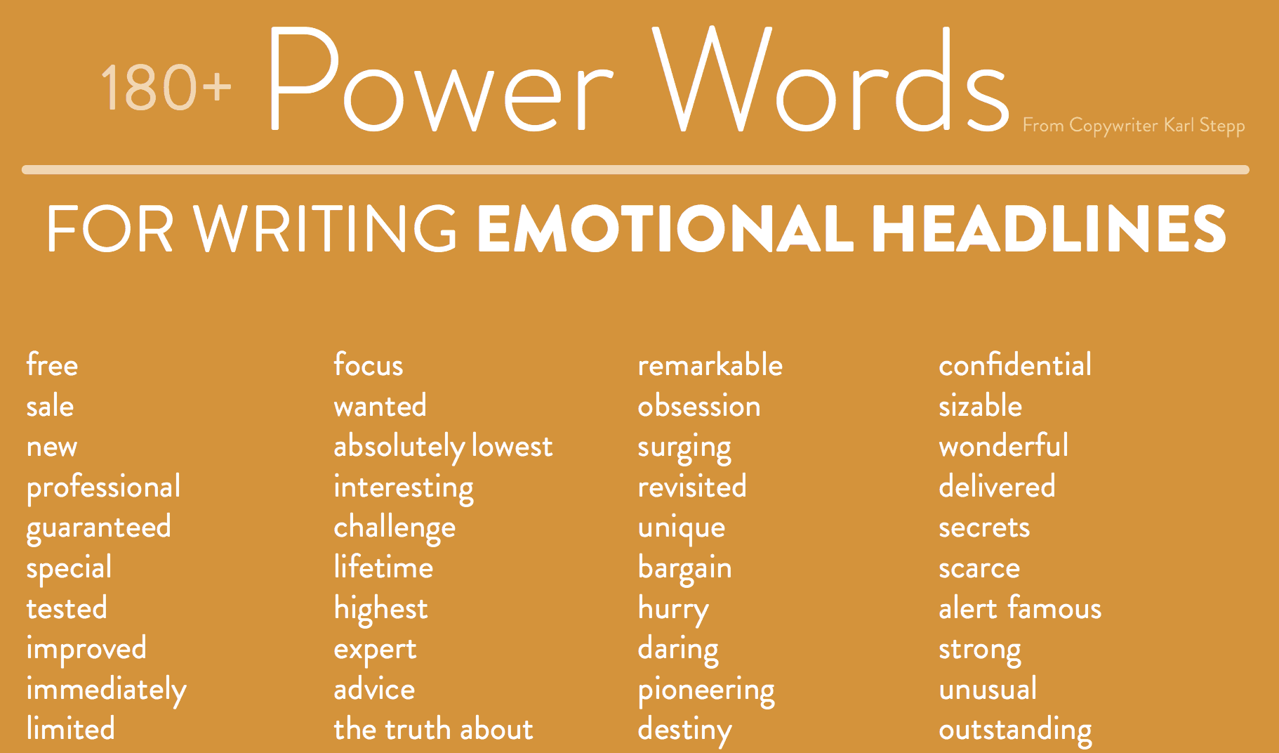 1000 Power Words That Will Make You A Social Media Rockstar