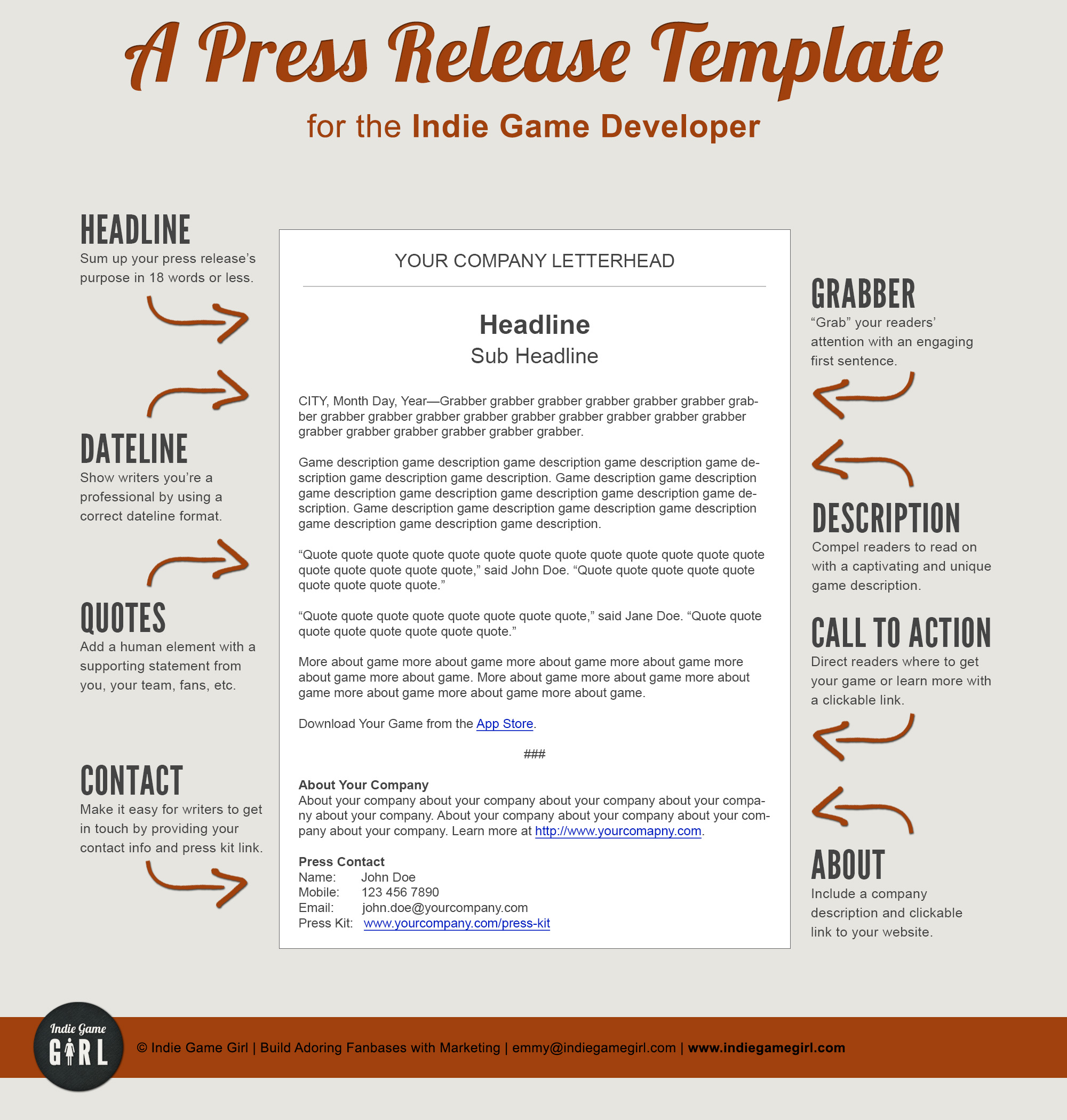 9 Tips: Formatting a Press Release Tsunami Music Publicity