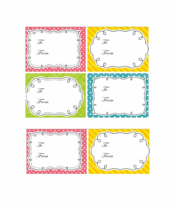 free printable gift tags templates 44 free printable gift tag