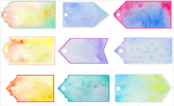 printable gift tags templates watercolor gift tag printable