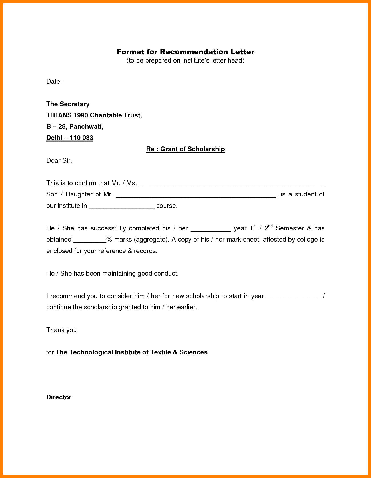 How to Write a Recommendation Letter [Sample Templates] | Site
