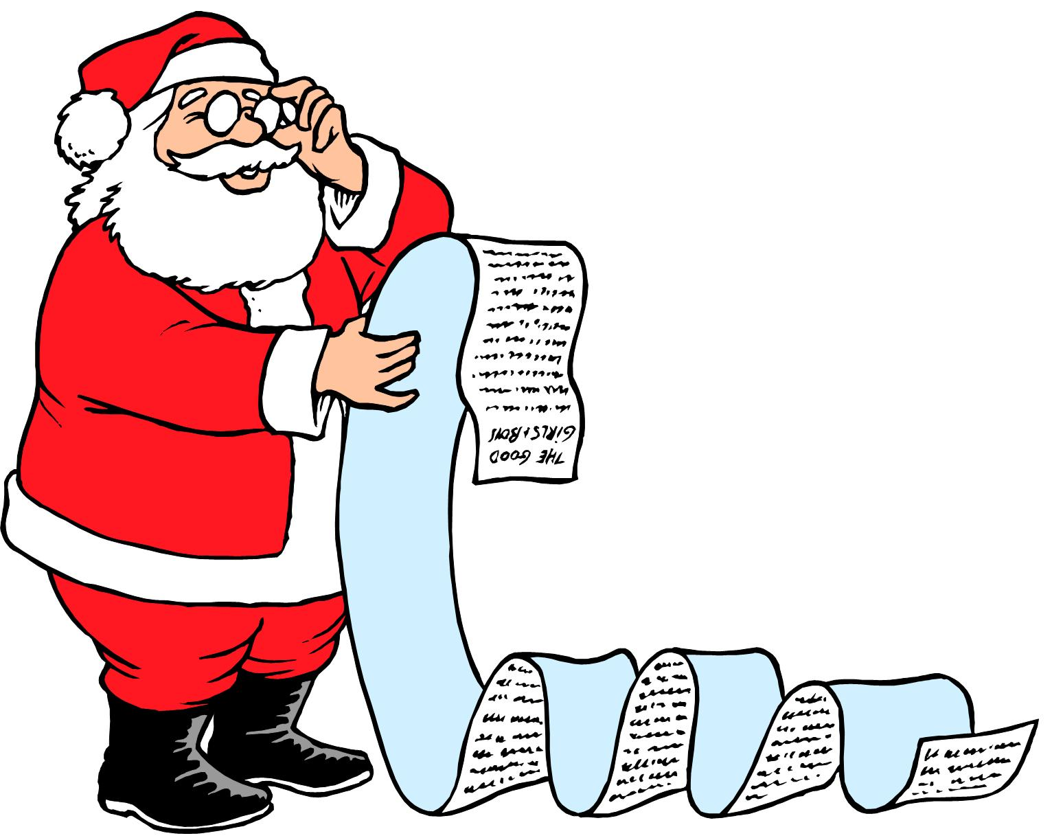 Checking Santa's List for the Party | Anchorage International