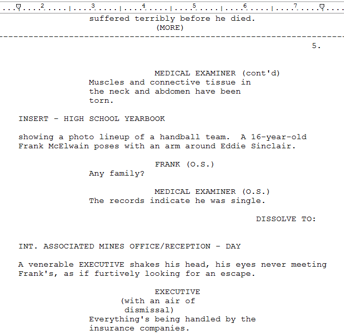 Screenplay Format Guide: Margin Settings Story Sense®
