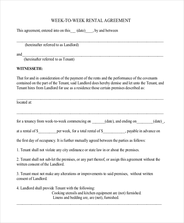 basic lease agreement template free simple lease agreement