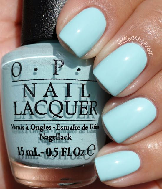 OPI Gelato On My Mind // .kelliegonzo.| my nails