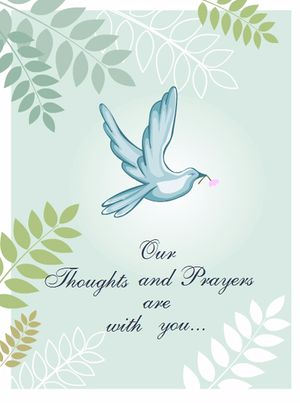 7 Free Printable Condolence and Sympathy Cards Free Printable