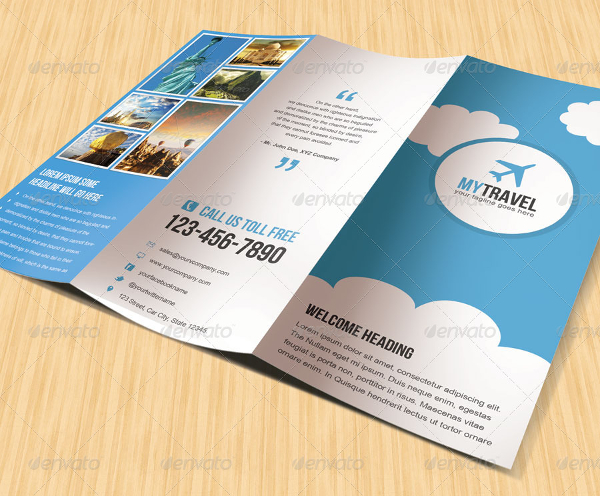 19+ Travel Brochure Free PSD, AI, Vector EPS Format Download