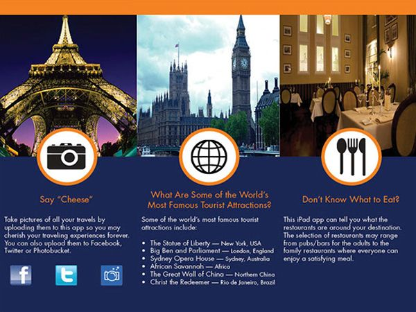 Travel Brochure Ideal Vistalist Co vrtogo.co