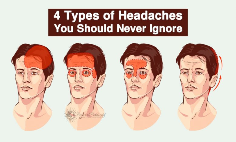 4 Types Of Headaches You Should Never Ignore The Healthiest