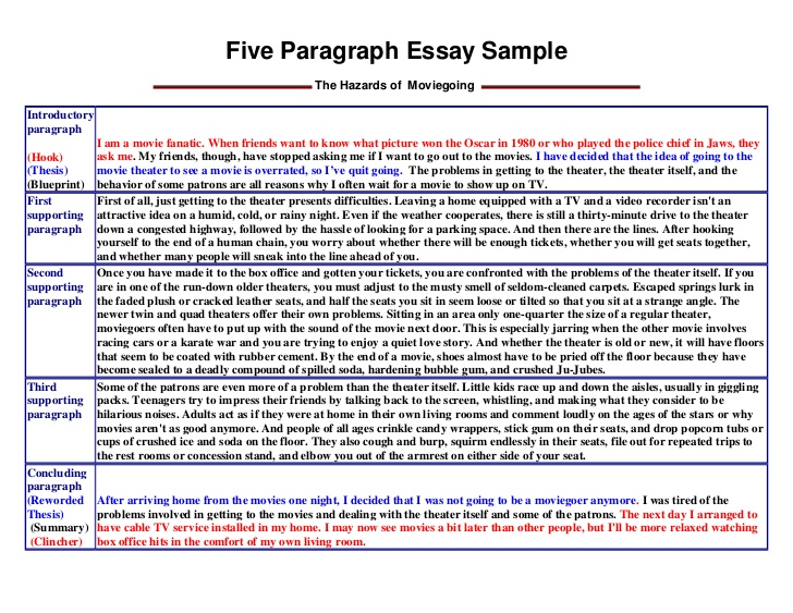 example 5 paragraph essay Kleo.beachfix.co