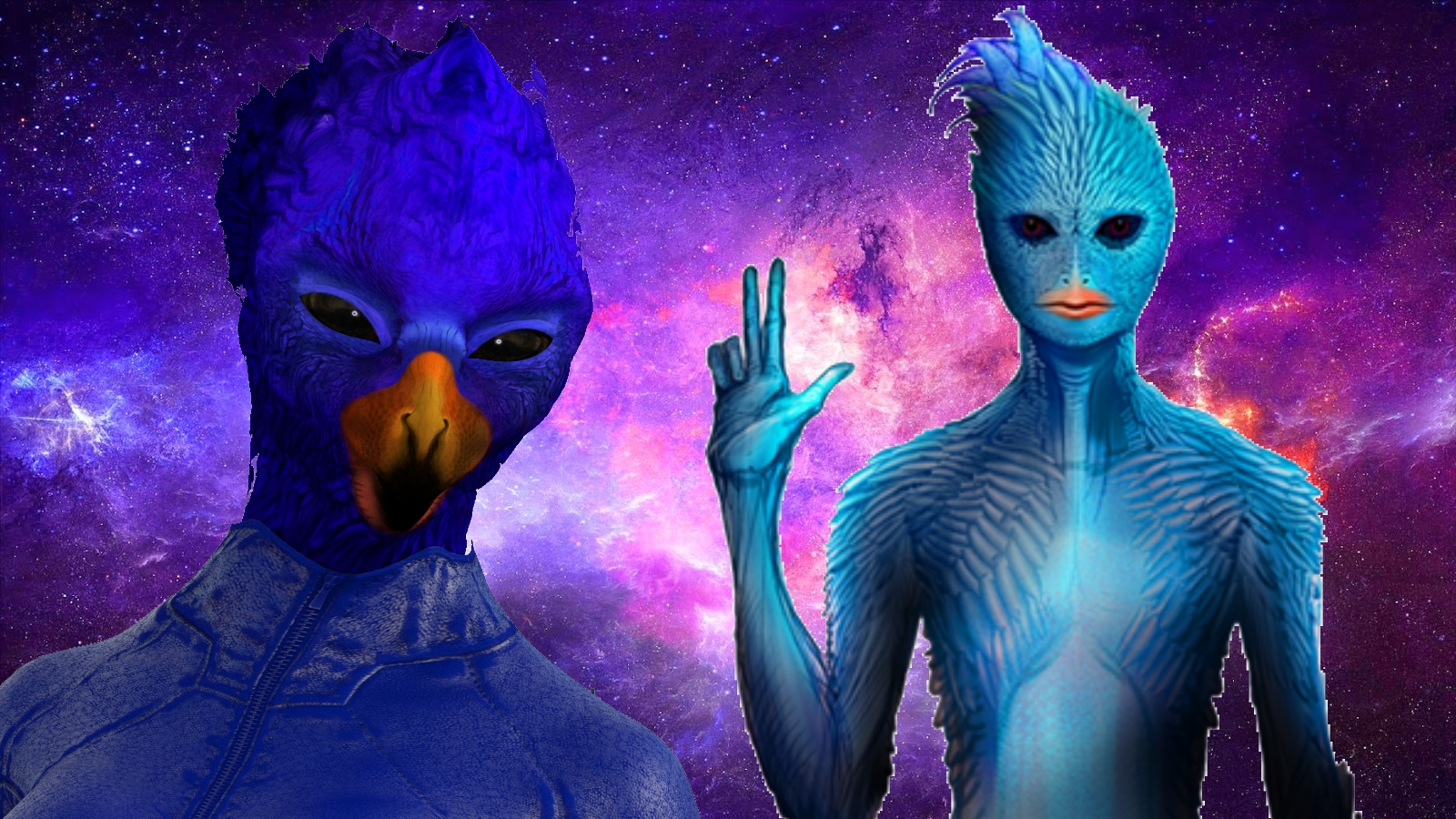Blue Avians Aliens Everything You Wanted to Know Universe