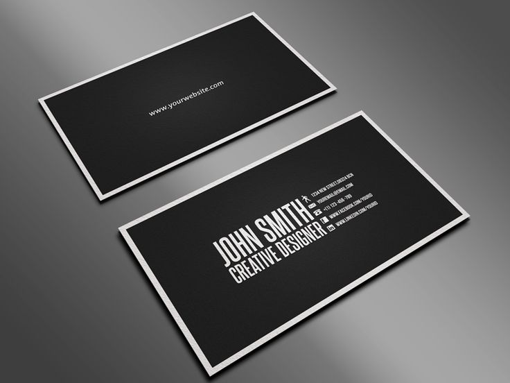 Business Cards Layout Home Design and Decoration Inspiration