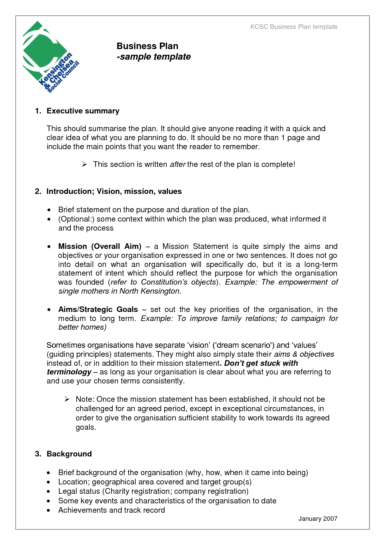 Business Proposal Templates Examples | Business Plan sample