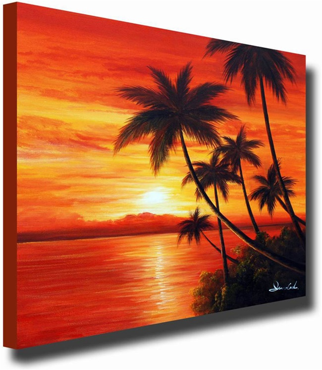 Classic Sunrise Original Artwork | 50% Off @ Canvas Paintings