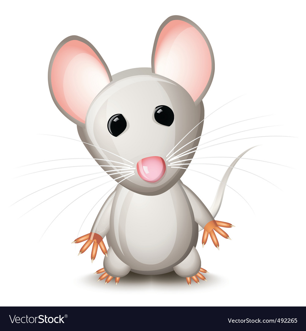 Cartoon mouse Royalty Free Vector Image VectorStock