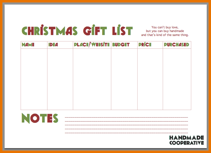 Christmas List Maker 7 Best List Images On Pinterest Calendar Free