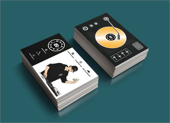 25+ DJ Business Cards Free Download | Free & Premium Templates