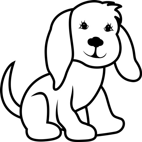 Outline Of A Dog Cliparts.co | DRAWING | Pinterest | Dog outline
