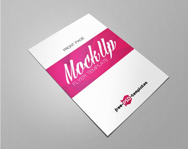 Flyer Mockup Bundle | MockupWorld