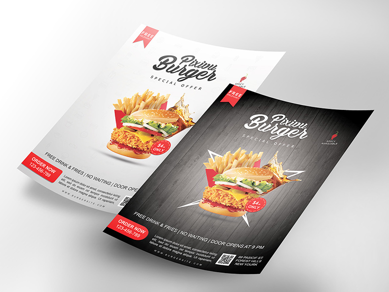 Professional Flyer Mockup Freebie Download Photoshop Resource