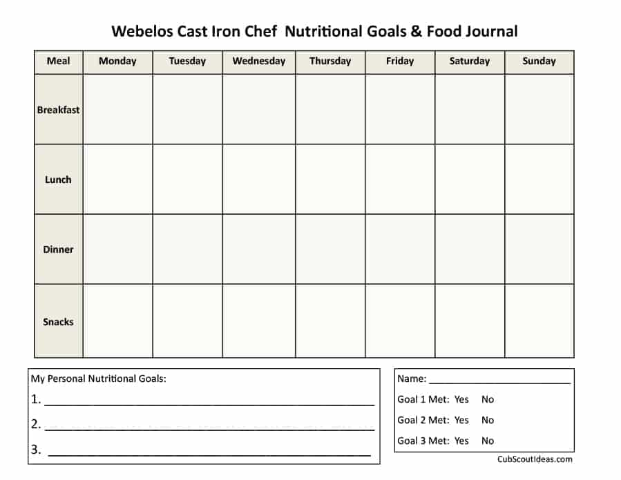 Food Journal 30+ Beautiful Templates Template Archive